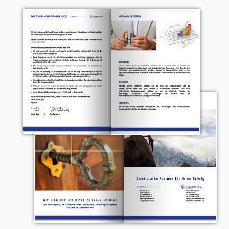 Broschüre A4 zweiseitig
