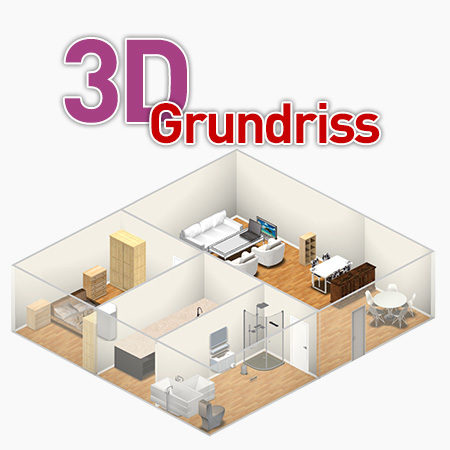3D Grundriss für Immobilienmakler