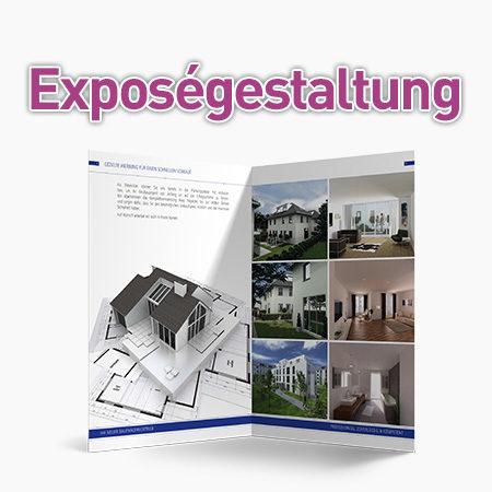 Exposégestaltung für Immobilienmakler
