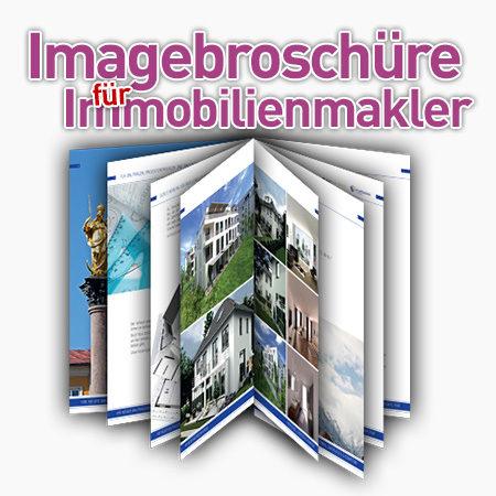 Imagebroschüre A4 für Immobilienmakler