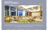 Postkarten-A6 Vorlage - Layout zur Auswahl für Gastronomie und Hotel 17