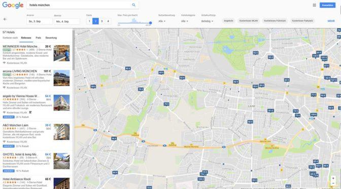 Google HotelAds - Google Hotelanzeigen Tourismus-Branche Hotel-Pension - DNZ Networks