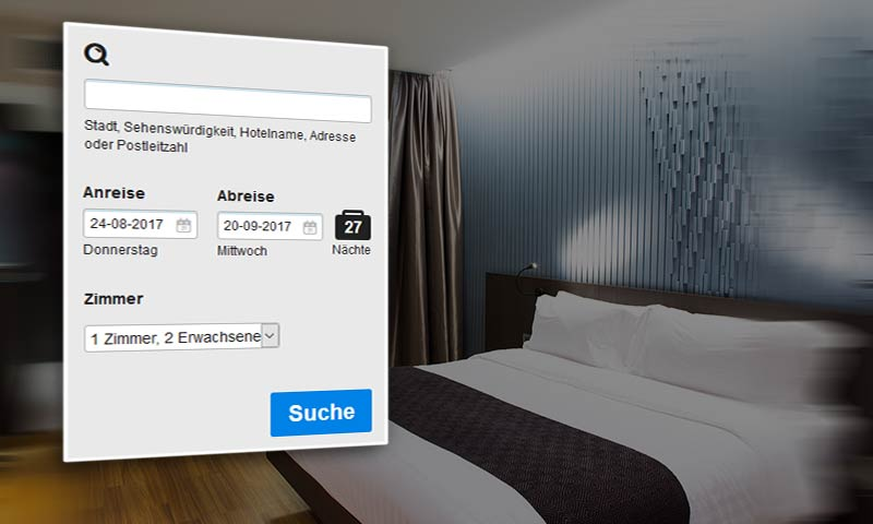 Hotel Buchungssystem Hotelwebseite Bookingtool Tourismus Branche Hotel-Pension - DNZ Networks