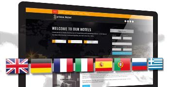 Anwalt Multi Language Webdesign Mehrsprachige WordPress Website - DNZ Networks