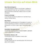 Hotelbroschüre Hotel-Service Grafikdesign-Tourismus-Branche Hotel und Pension - DNZ Networks3