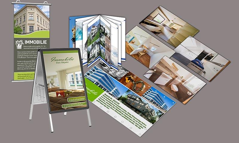 Grafik und print f r immobilienmakler dnz networks for Beste immobilienmakler