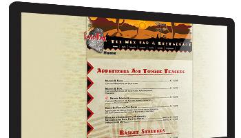 Restaurant-Homepage-Speisekarte-Webdesign-Menuekarte-PDF-Gastronomie-Getraenkekarte-WordPress-DNZ-Networks.com