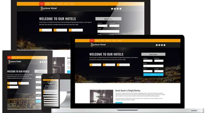 Webdesign Hotel WordPress Tourismus Branche Hotel Pension - DNZ Netowrks