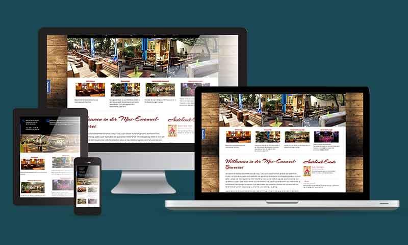 Webdesign Restaurants WordPress-Branche-Gastronomie-DNZ-Netowrks
