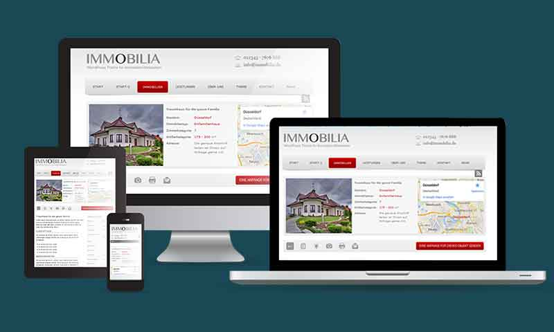 Webdesign-WordPress-Immobilien-Branche-DNZ-Netowrks