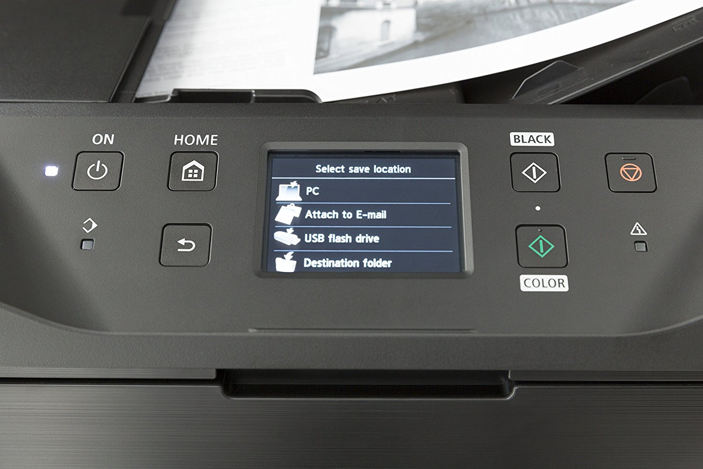 Display-CANON-MAXIFY-MB5350-Tintenstrahl-4-in-1-Tinten-Multifunktionsdrucker-WLAN-Netzwerkfähig