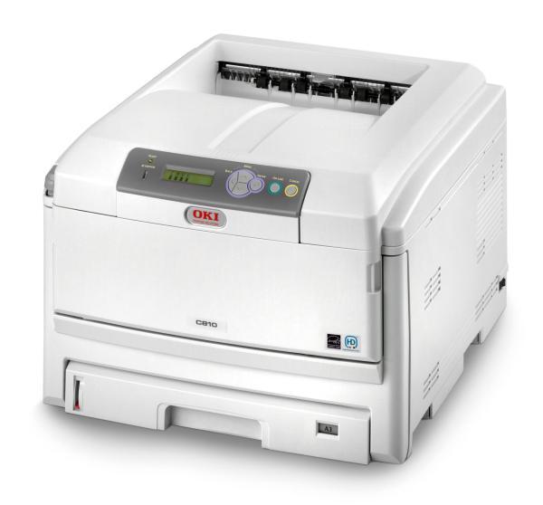 Farb-Laser-Drucker- okic821-DNZ-Networks-Side