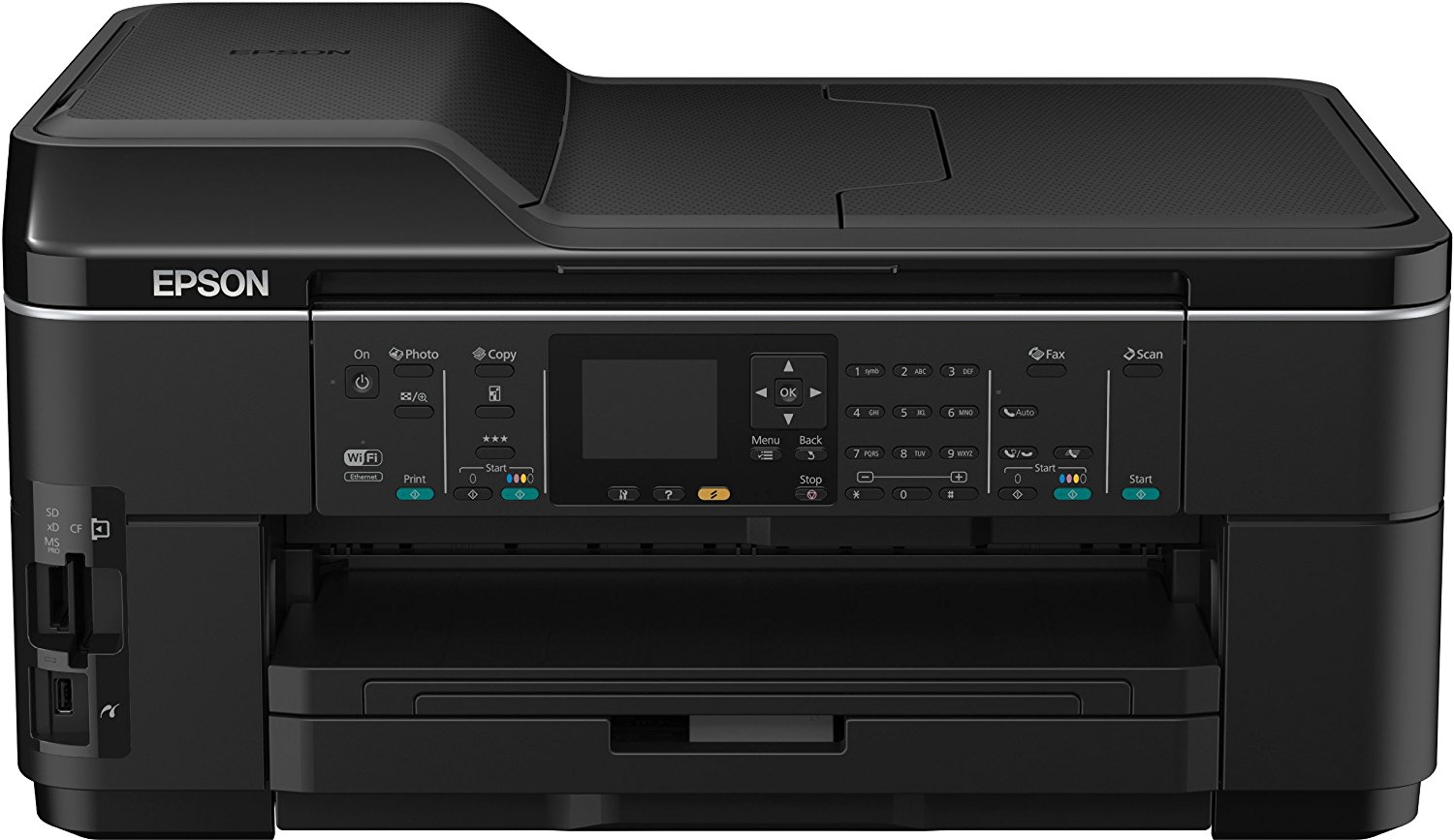 Front Epson WorkForce WF 7515 A3 - DNZ-Networks