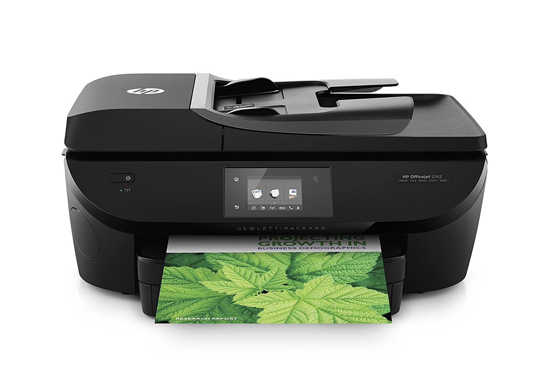 Front-HP-Officejet-7510-Thermischer-Tintenstrahldruck-4-in-1-Multifunktionsdrucker-WLAN-Netzwerkfähig-DNZ-Networks