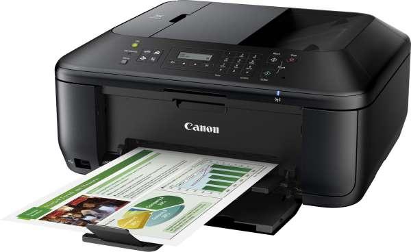Side - Druck Canon PIXMA MX535 Tintenstrahl-Multifunktionsdrucker-WLAN - DNZ-networks.com