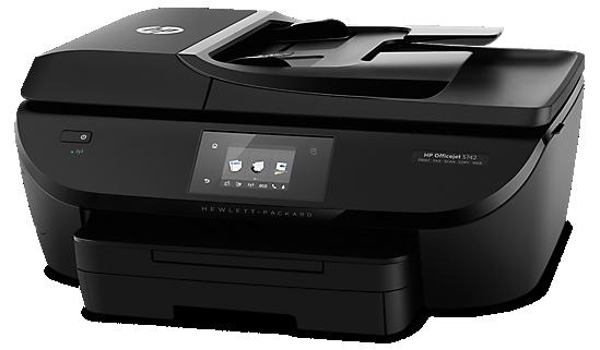 Side-HP-Officejet-7510-Thermischer-Tintenstrahldruck-4-in-1-Multifunktionsdrucker-WLAN-Netzwerkfähig-DNZ-Networks