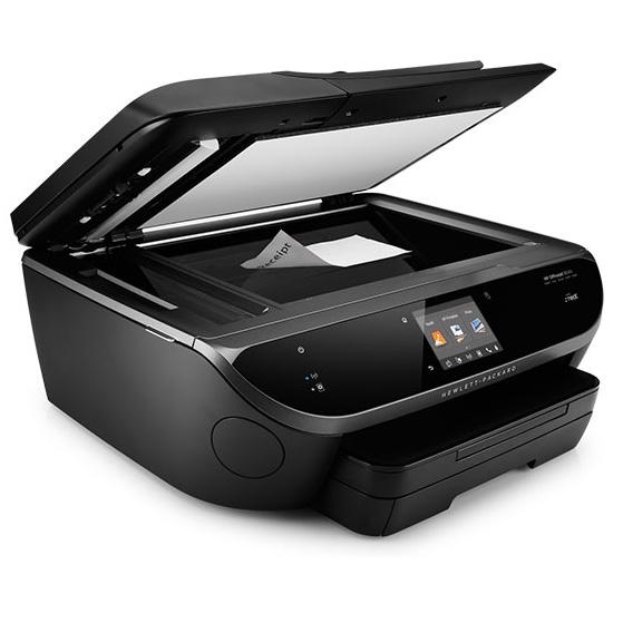 Side-Open-HP-Officejet-7510-Thermischer-Tintenstrahldruck-4-in-1-Multifunktionsdrucker-WLAN-Netzwerkfähig-DNZ-Networks