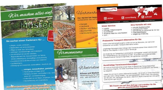 Grafik-Print-Handwerk-Flyer-Branche-Handwerker-Werkstatt-Visitenkarten-erstellen-lassen-Baubranche-DNZ-Netowrks