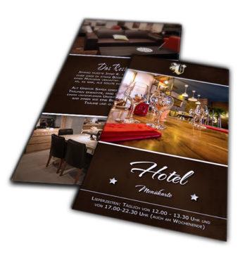 Flyer DIN Lang Hoch – Hotel Image Flyer