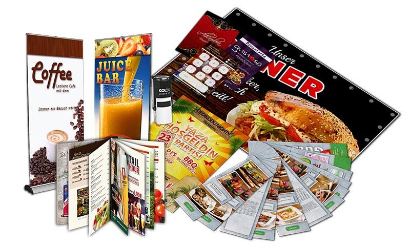 Printdesign-Flyer-Printwerbung-Restaurants-Branche-Visitenkarte-Gastronomie-Speisekarte-DNZ-Netowrks