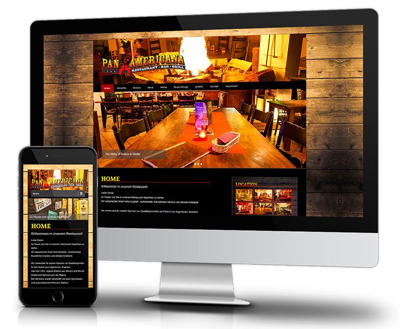 Responsiv-Restaurant-Webdesign-Mobile-Optimiert-Homepage-erstellen-Ref-PanAmericana-Rodizio-DNZ-Networks