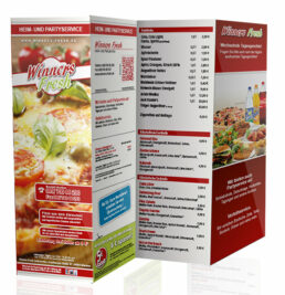 Speise-Flyer-Pizzeria-Take-Away-Menukarte-Lieferdienst-Take-Away-Speisekarte-8-Seiten-DNZ-Networks