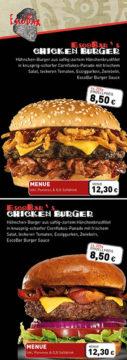 TexMex Food München – hochwertige DIN Lang 16-seitige Speisekarte, günstig gestalten & Drucken lassen
