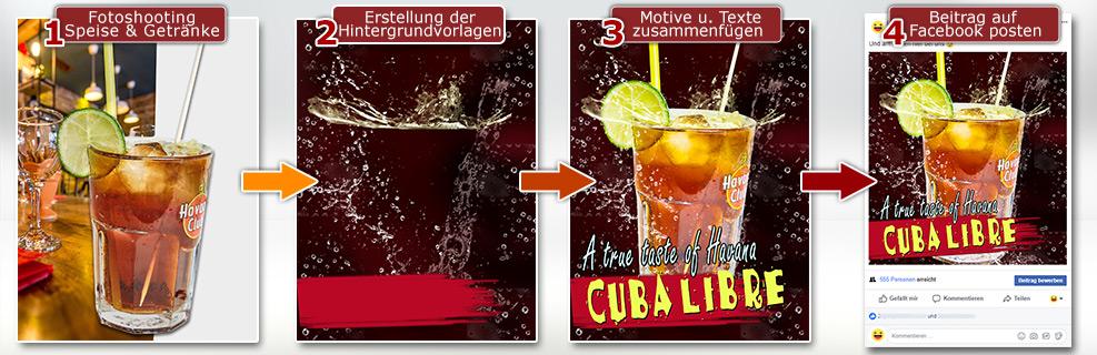 Facebook-Werbung-Beitrag-Schritte-Erstellung-Restaurant-Posting-Gastronomie-Facebook-DNZ-Networks