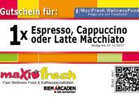 Plastikkarte-Gutschein Espresso Kaffee -Gastronomie-Restaurant-Fastfood DNZ Networks