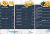 Digitale Menuboard Gastro 6 Preisliste Fischgerichte Bildschirm Karte Display - DNZ Networks