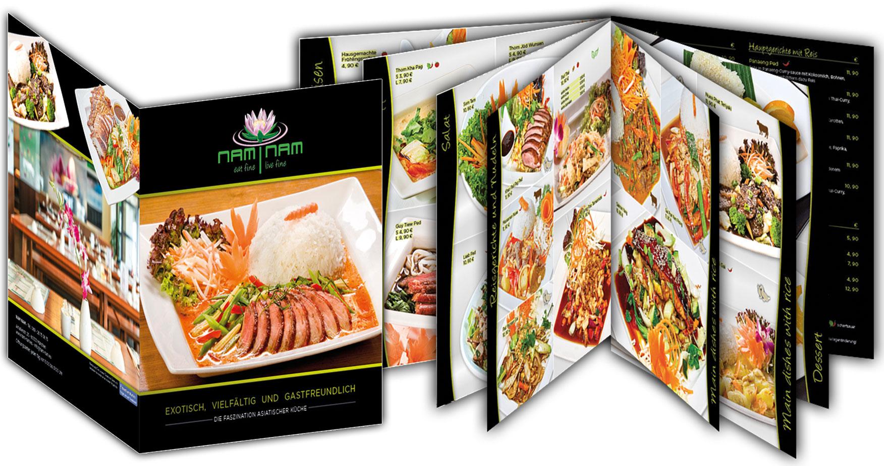 Asia-Speisekarte-Restaurant-Menukarte-Gastronomie-NamNam-Speisebilder-Quadrat-DNZ-Networks