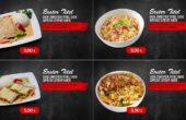 Digitale Menüboard Animation Vorlage Asia Doener Pizzeria Gastronomie Imbiss DNZ Networks (BQ)