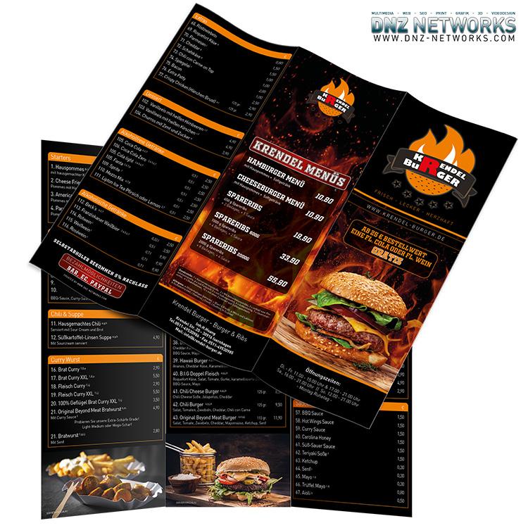 Speisekarte-Krendel-Burger-Isernhagen-Hanove-Flyer-Lieferdienst-DNZ-Networks