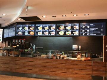 Yin Yang Restaurant – Hamburg Digital Signage- Displays – Menüboard- Digitale Speisekarten