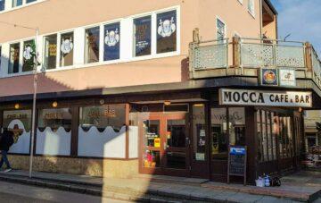 Schaufenster Folierung – Mocca Shisha Bar – München